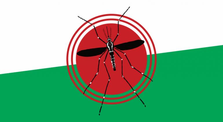 Casos de dengue caem 65% na capital