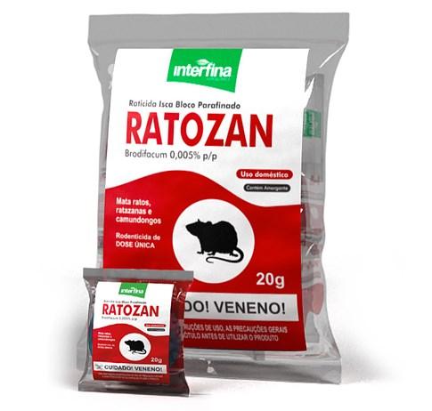 Ratozan Bloco Parafinado