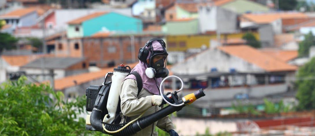 994 municípios brasileiros estão em situação de risco de surto de dengue, zika e chikungunya