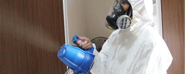 Curso de Sanitização de ambientes