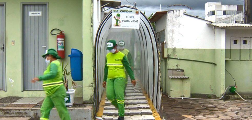 Químicos e médicos desaconselham o uso de túneis de desinfecção contra Covid-19 no ES